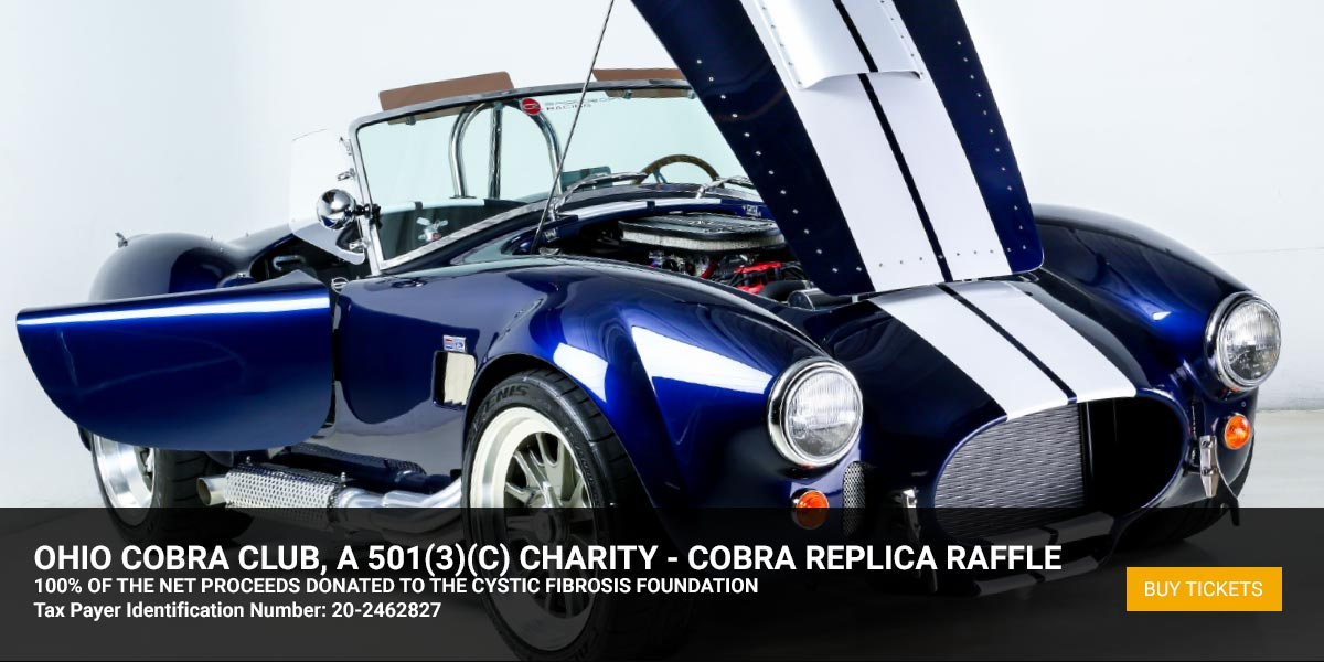 Ohio Cobra Club Raffle Car